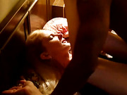 Nasty slut well fucked by BBC and seeded as hubby films