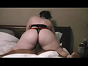 White whore creampied riding cowgirl on BBC